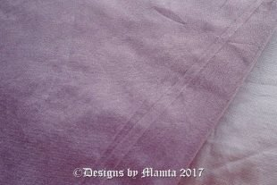 Pastel Lilac Purple Silk Fabric