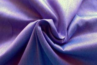 Periwinkle Blue Indian Silk Fabric