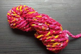 Pink Fabric Twine
