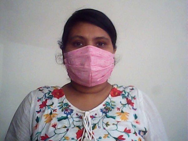 Pink Protective Face Mask