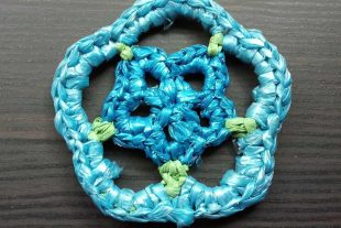 Plarn Flower Applique