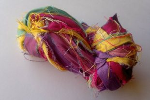 Playtime Fair Trade Silk Sari Ribbon Yarn