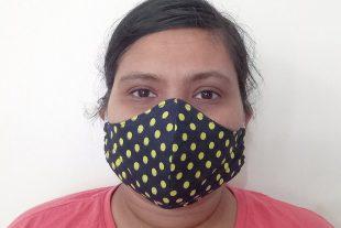 Polka Dot Face Mask