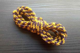 Pretty Pansy Braided Cord