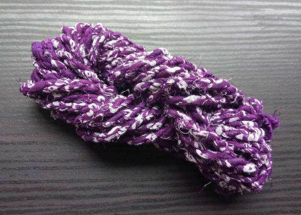Purple Fabric Twine