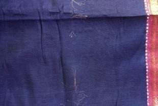 Purple Ilkal Sari Fabric