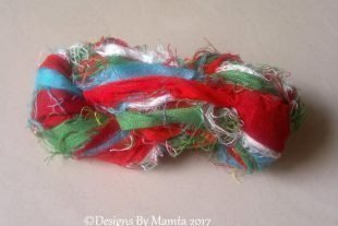 Quetzal Silk Sari Ribbon Yarn