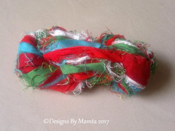 Quetzal Silk Sari Ribbon Yarn