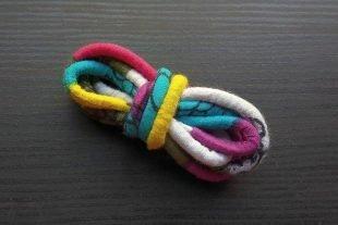 Rainbow Fabric Cord