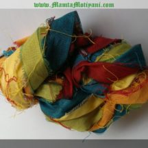 Rainbow Sari Silk Yarn