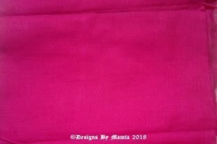 Raspberry Pink Lining Cotton Fabric