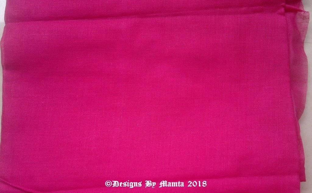 Raspberry Pink Lining Cotton Fabric
