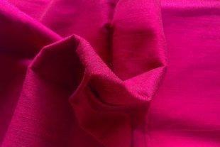 Raspberry Pink Silk Dupioni Fabric