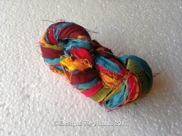 Recycled Sari Ribbon