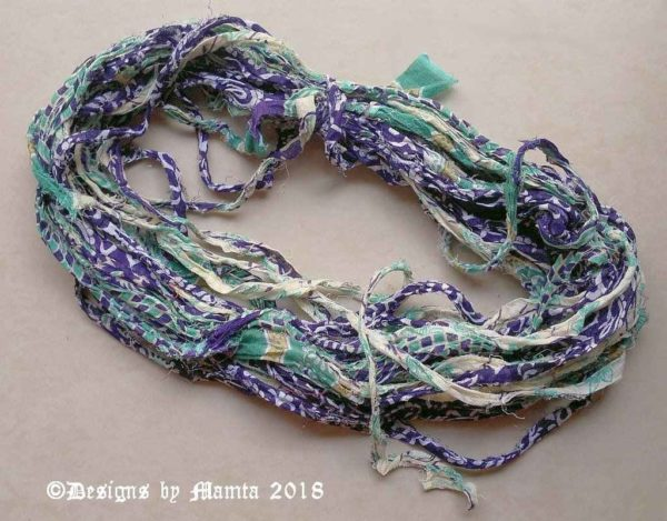 Recycled Sari Ribbon