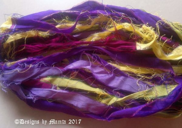 Recycled Sari Ribbons