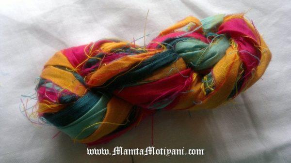 Recycled Sari Yarn