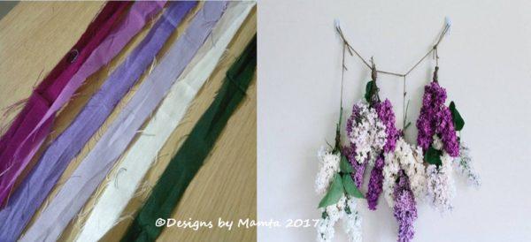 Recycled Sari Yarn Ribbons