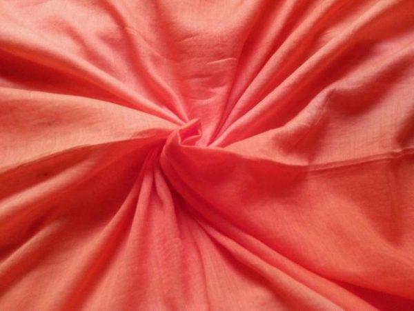 Red Yellow Muslin Fabric