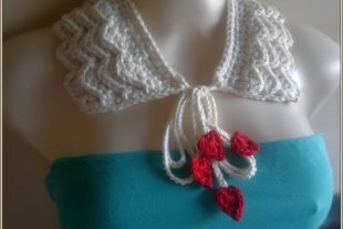 Romantic Ruffles Crochet Collar Pattern