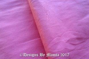 Rose Pink Dupioni Silk Fabric