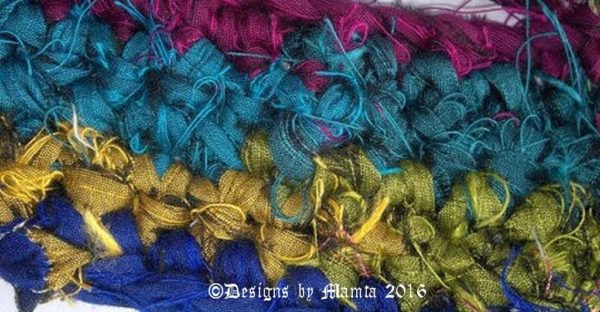 Sari Ribbon For Crochet