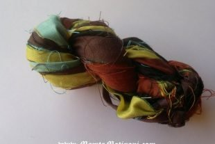 Sari Silk Ribbon For Crafts