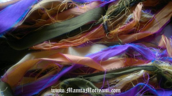 Sari Silk Ribbons