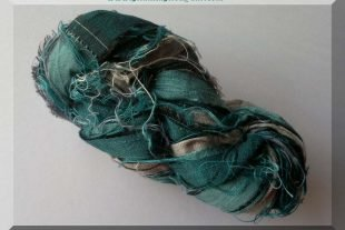 Sari Silk Yarn Ribbon