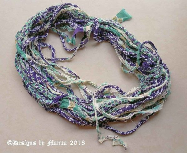 Sari Yarn Ribbon Projects