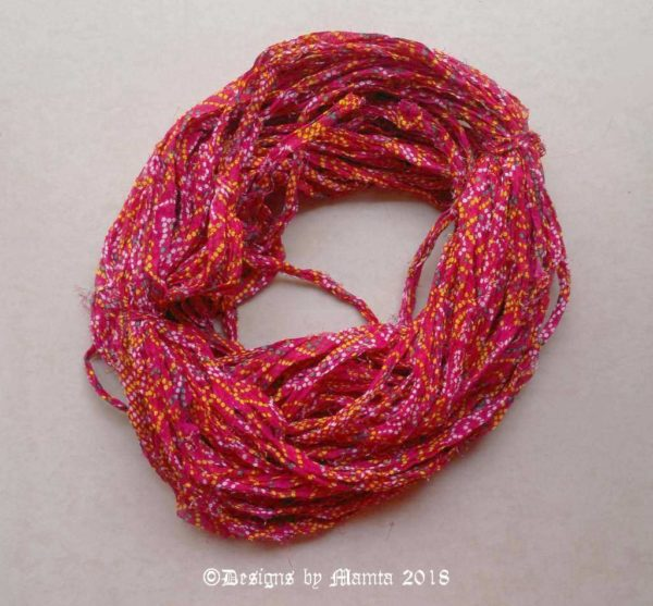 Sari Yarn Ribbon Projects