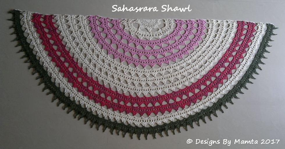 Crochet Sahasrara Shawl Pattern Unusual Crochet Patterns For Women