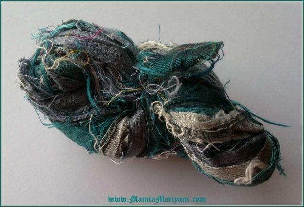 Silk Sari Ribbon