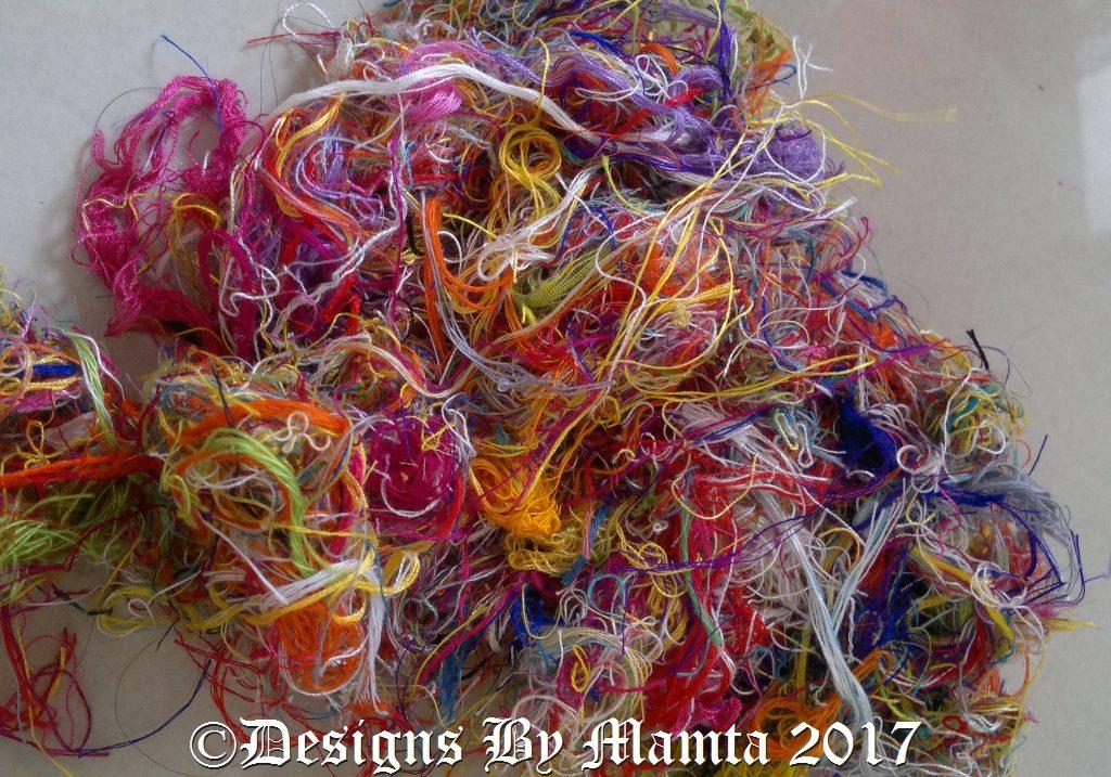 Silk Thread Scraps