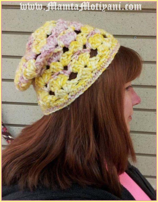 Slouchy Beanie Crochet