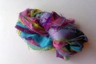 The Old Paris Sari Silk Ribbon Yarn