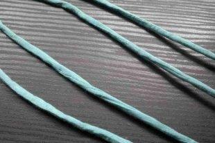 Tiffany Blue Silk Cord