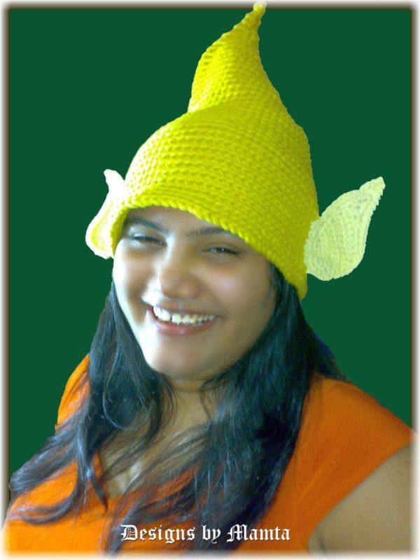 Tinkerbell Crochet Hat