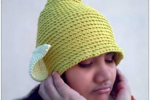 Tinkerbell Fairy Hat Crochet Pattern
