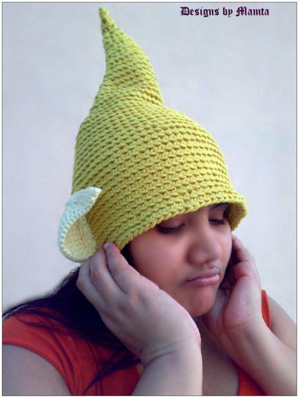 Tinkerbell Fairy Hat Crochet Pattern