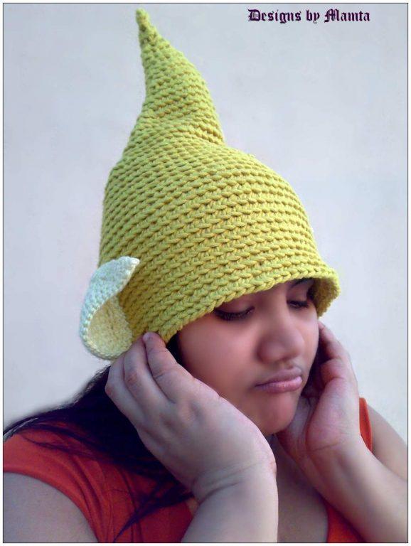 Tinkerbell Fairy Hat Crochet Pattern  285891051a3