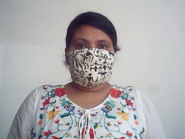 Tribal Print Face Mask