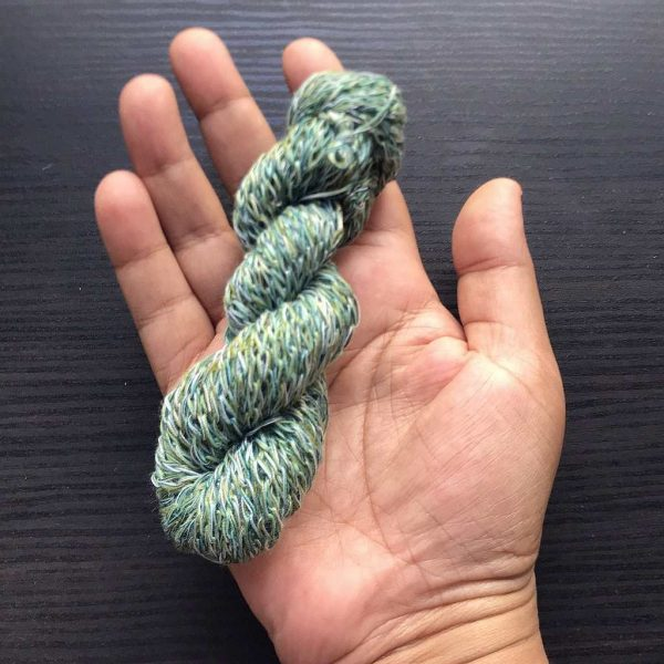 Turquoise Polyester I Cord Tricotin