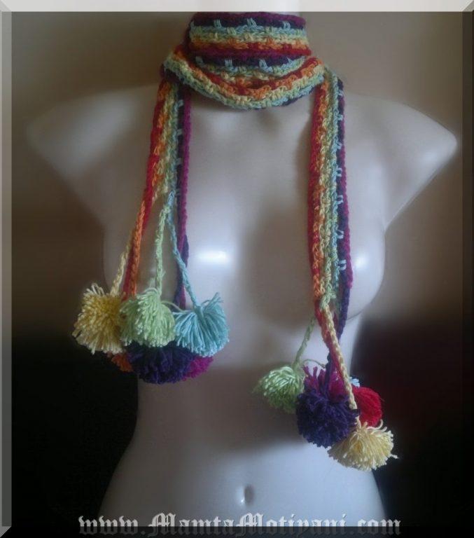 Hippie Chic Scarf Crochet Pattern For Beginners Gypsy