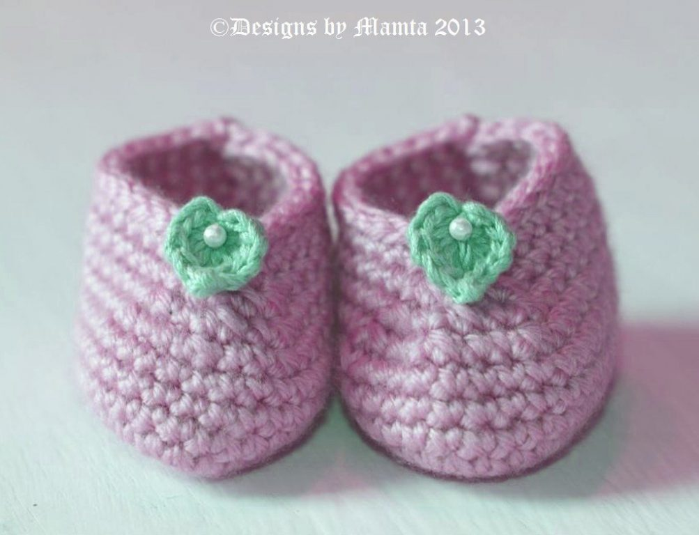 Easy Baby Booties A Designer Crochet Shoe Pattern For