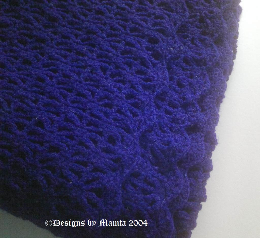 Easy Crochet Baby Blanket Pattern For Newborn Babies