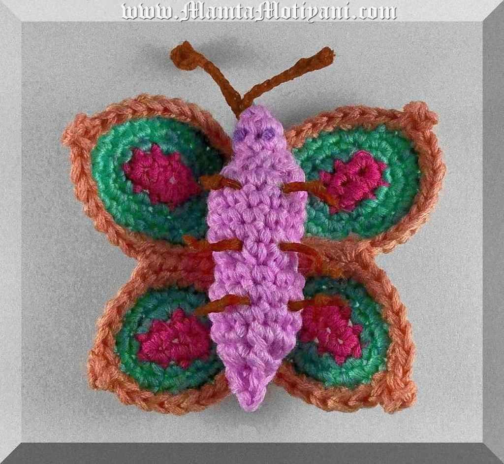 Crochet Butterfly Pattern   Amigurumi Swallowtail   Easy ...