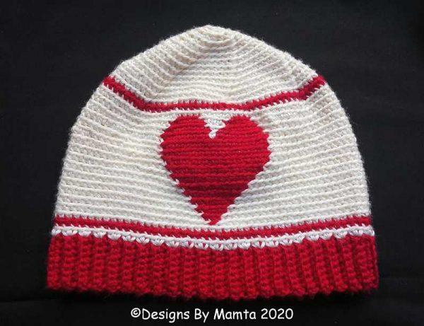 Valentine Heart Beanie