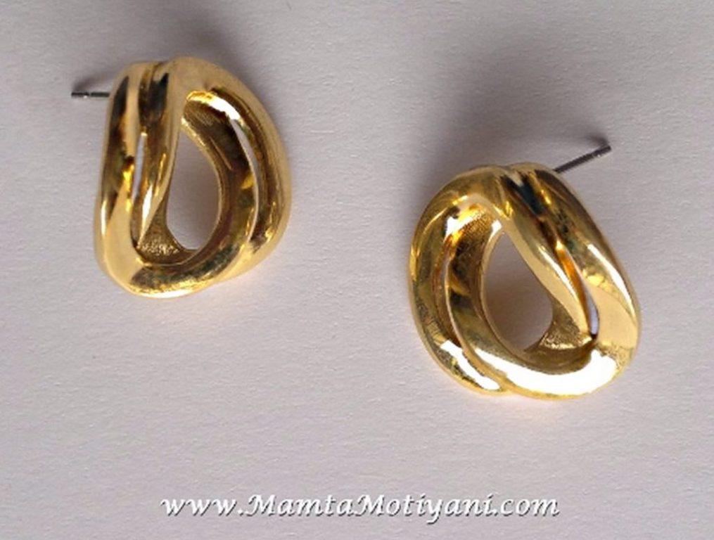 Vintage Monet Earrings For Women