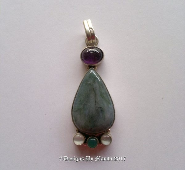 Vintage Moss Agate Jewelry